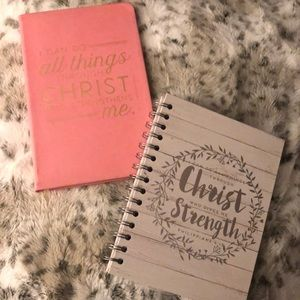I Can Do All Things Through Christ Notebook Bundle